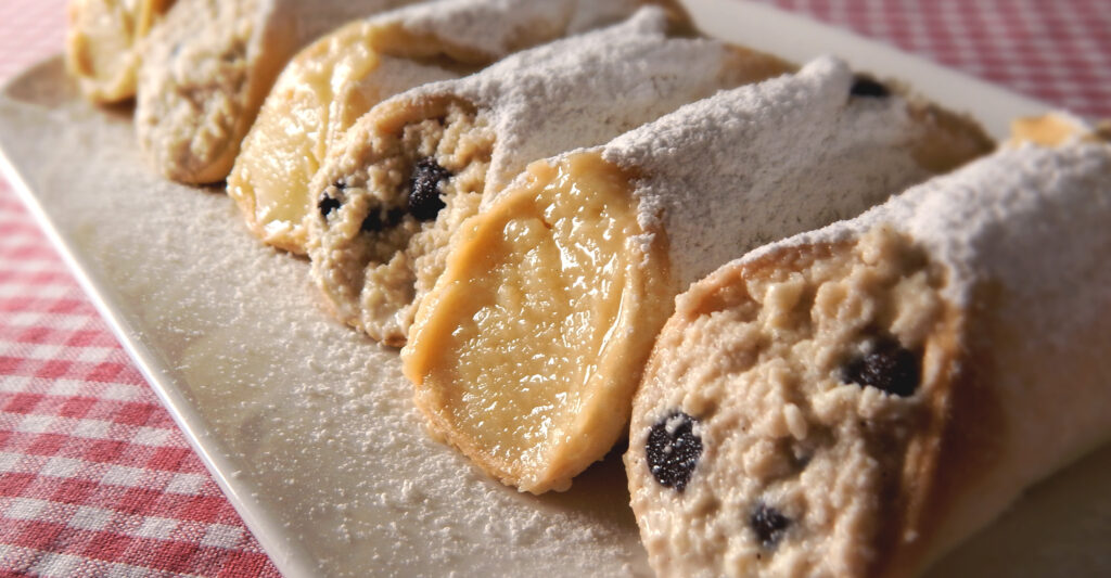 Receta Cannoli de ricotta y crema pastelera