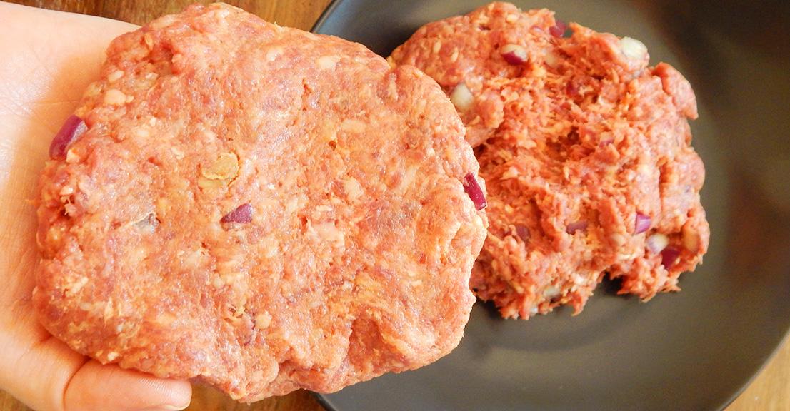 hamburguesa carne receta