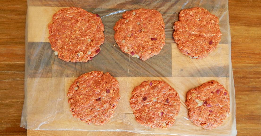 hamburguesa casera receta