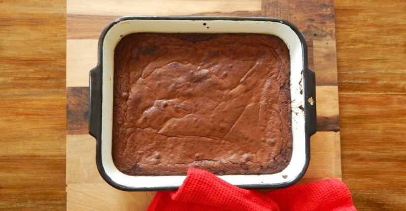 Brownies de Cacao en Polvo