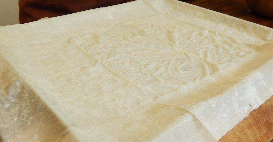 Receta de Strudel con Manzana, Pasas de Uva y Nuez