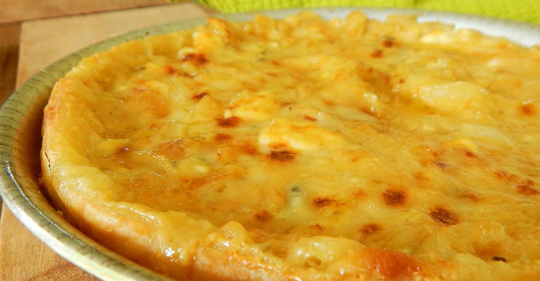 Receta Tarta de Cebolla y Queso Azul