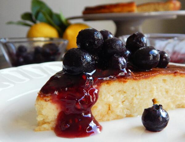 tarta de queso cheesecake limon facil