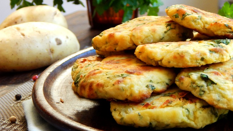 croquetas de papa italianas polpetta patate