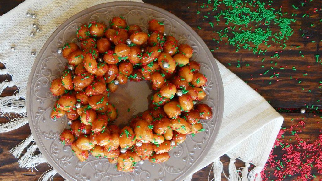 struffoli pignolata cicerchiata receta italiana