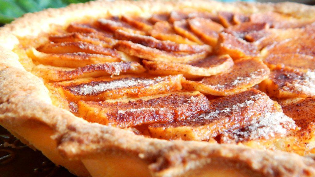 tarta de manzana crostat di mele torta canela
