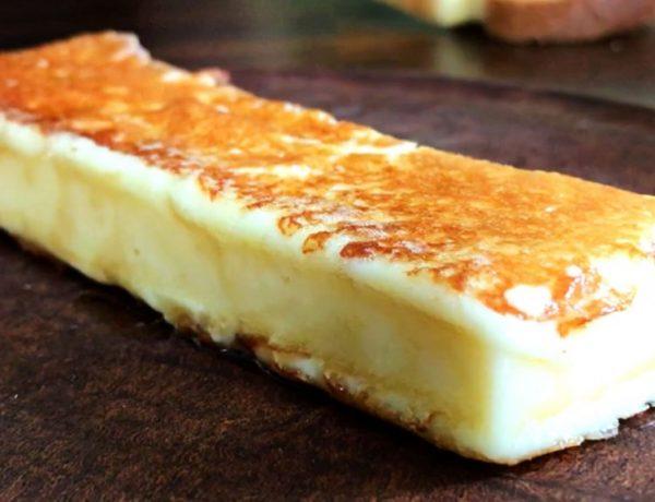 como grillar queso halloumi
