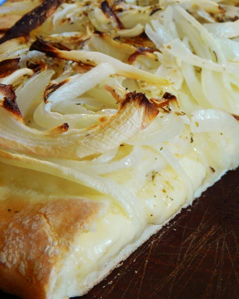 receta de fugazzeta con queso