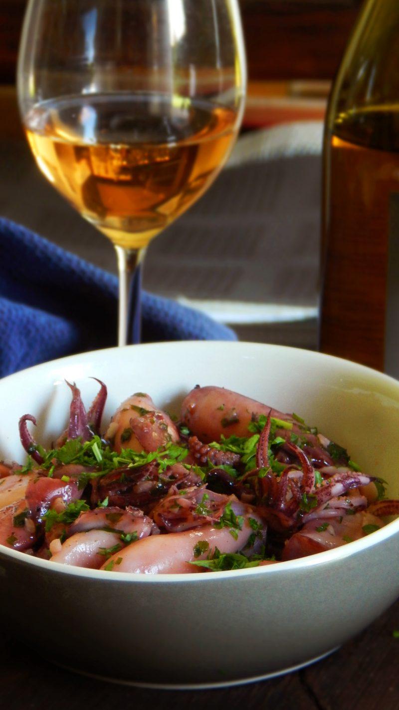calamaretti plancha chipirones
