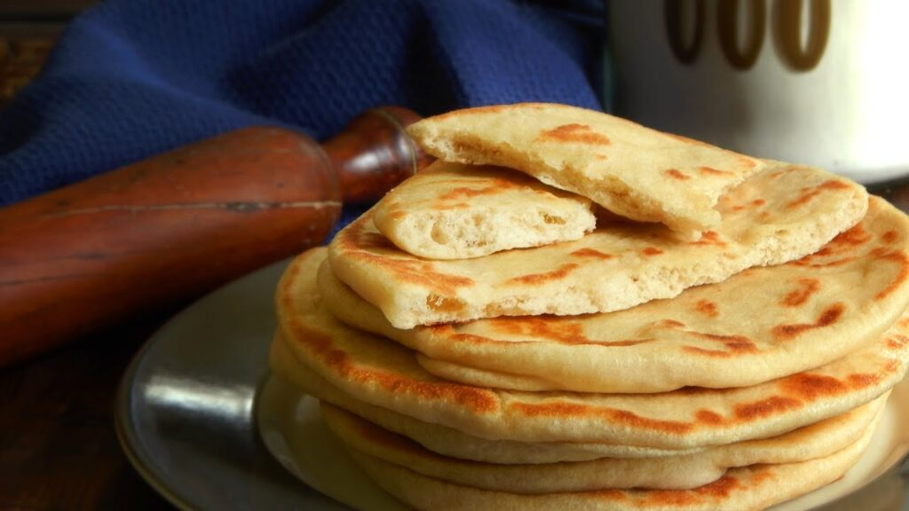 pan pita griego sin horno