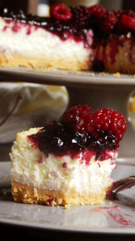 cheesecake receta new york