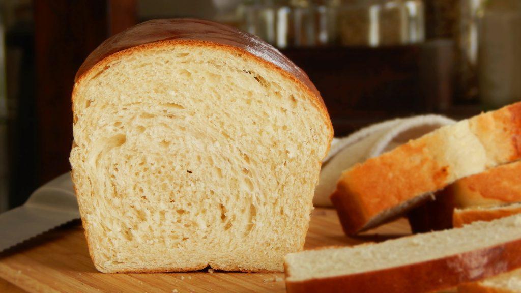 pan lactal de molde blanco casero
