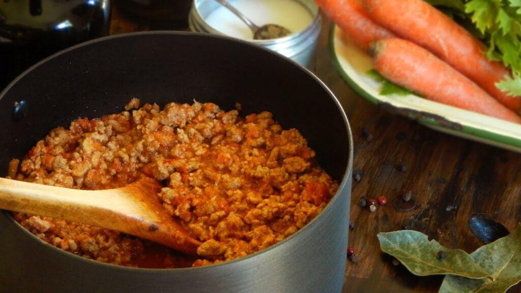 salsa bolognesa ragu bolognese carne