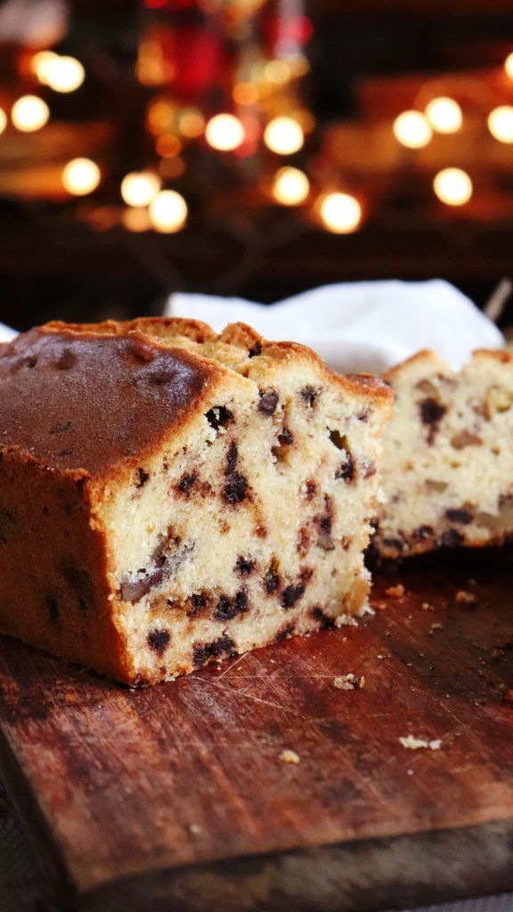 budin hamburgues navideño chocolate cognac