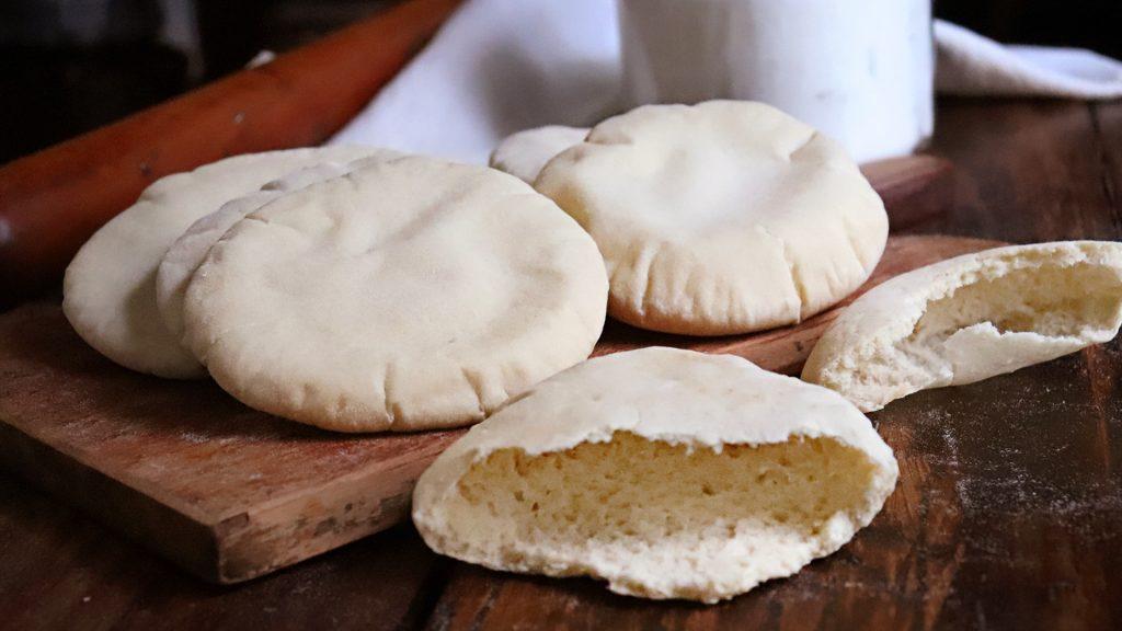 pan casero masa madre