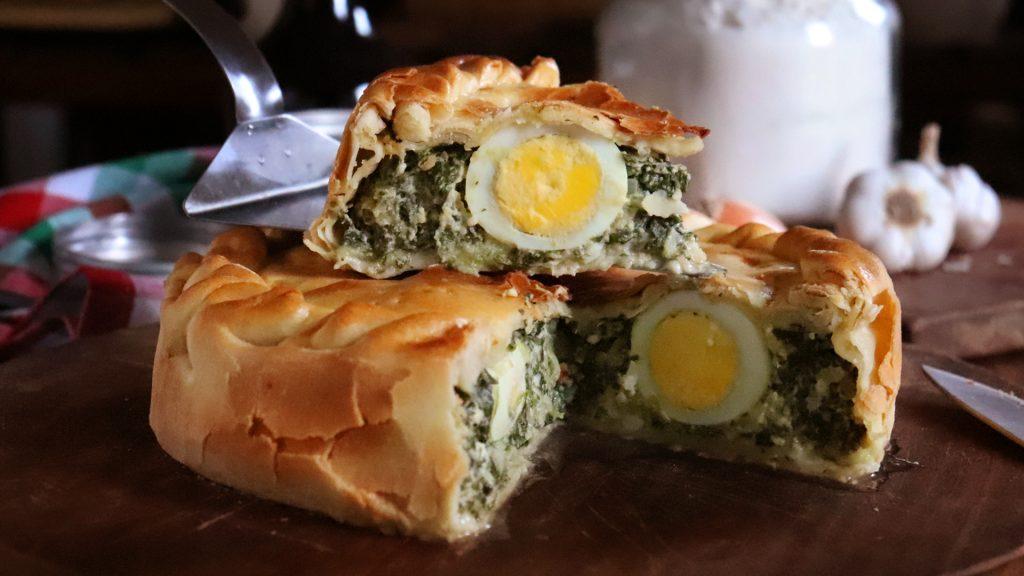 pascualina tarta de acelga huevo pascuas