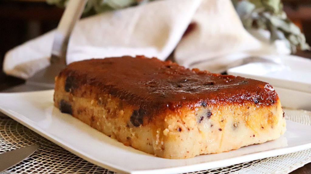 budin de pan chocolate pan viejo