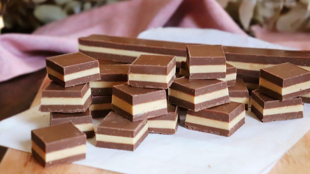 marroc bombon golosina chocolate casero
