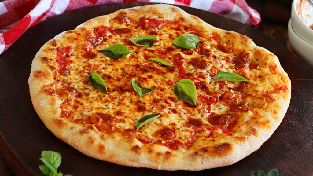 pizza casera masa madre