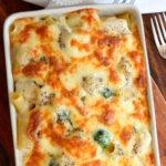 pasta al forno salsa blanca bechamel gratinados