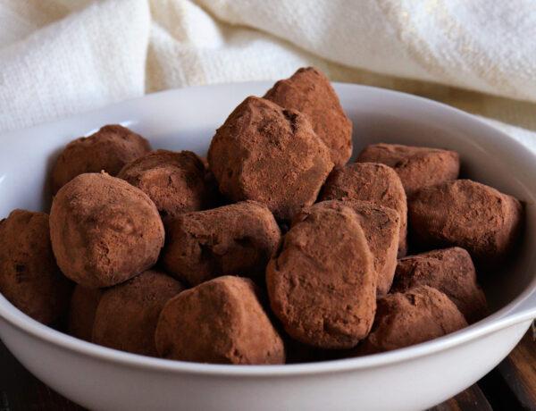 trufas chocolate ganache cacao