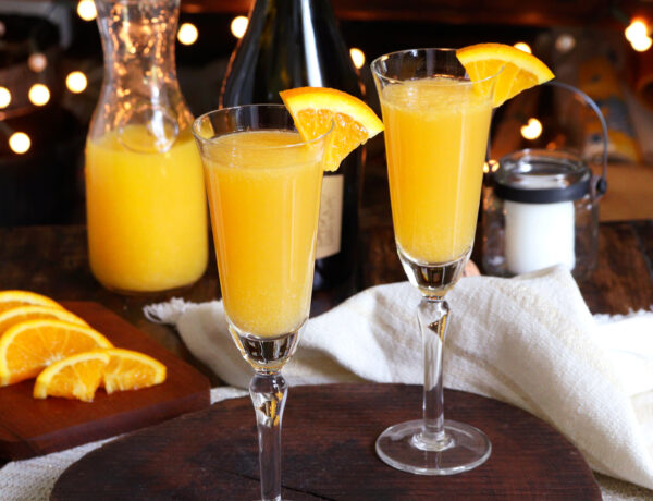 mimosa trago cocktail naranja espumante