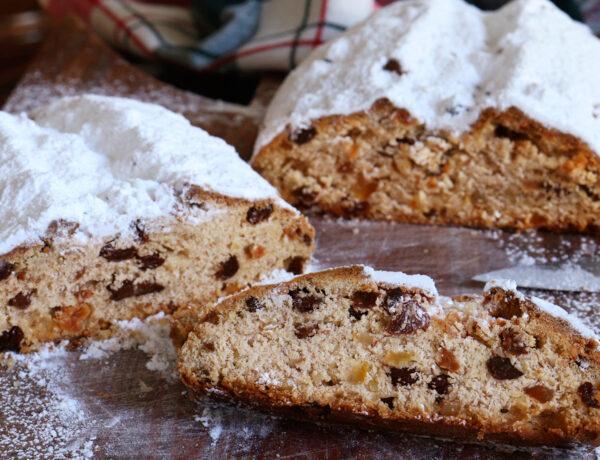 stollen christstollen dresdner original receta pan dulce cake