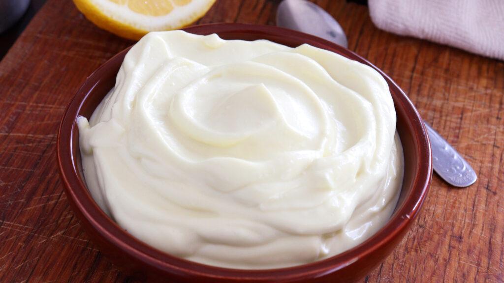 mayonesa casera lactonesa sin huevo