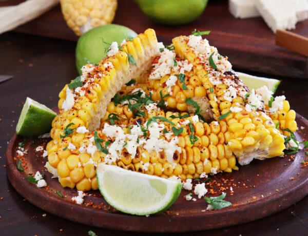 choclos con manteca queso corn ribs elote