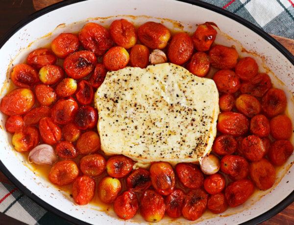 baked feta pasta queso griego viral tiktok