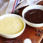 crema pastelera chocolate vainilla